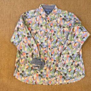 Fluster Vintage Hummingbird Button Down